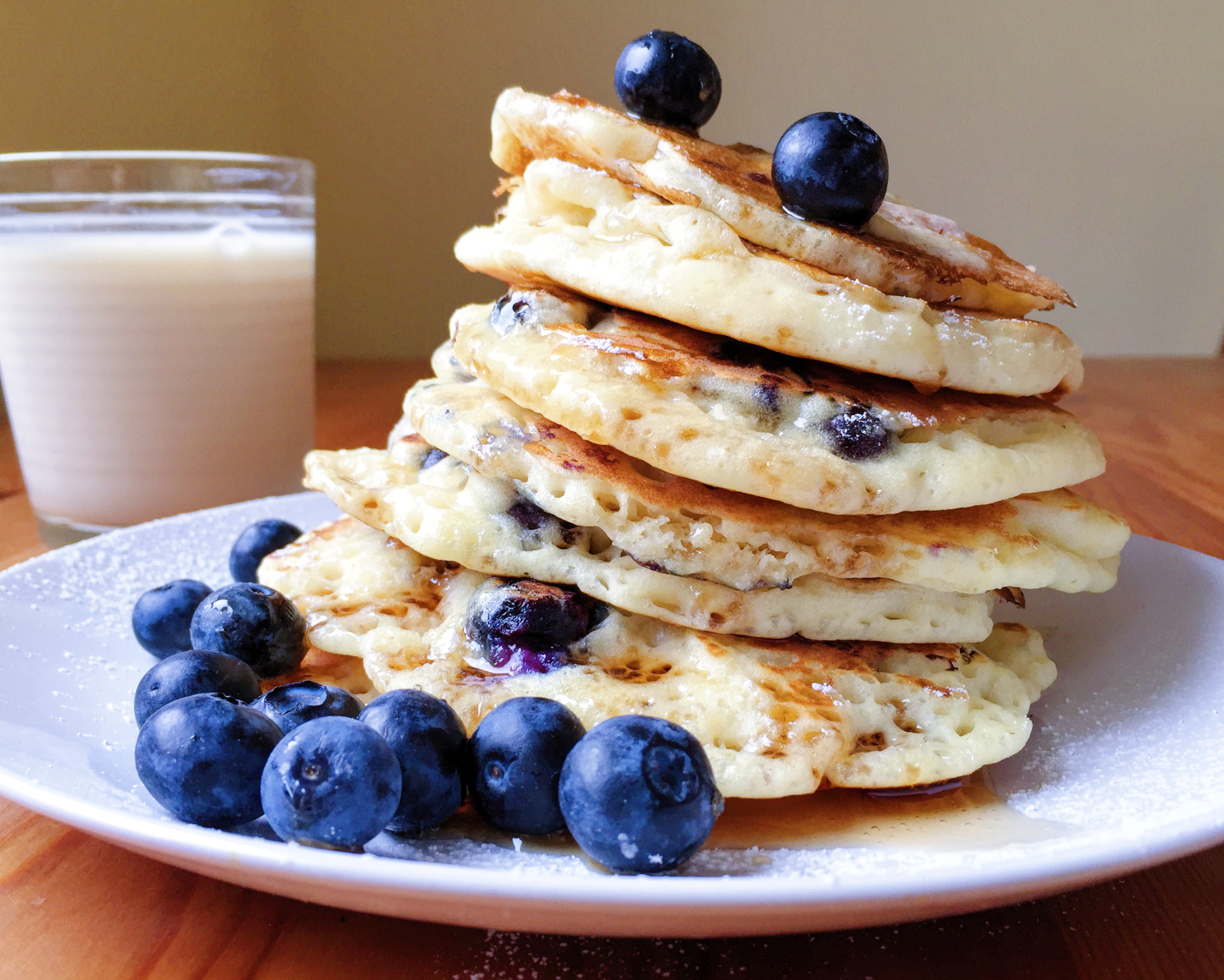 Gluten-Free Blueberry Pancakes — The Dish On Healthy