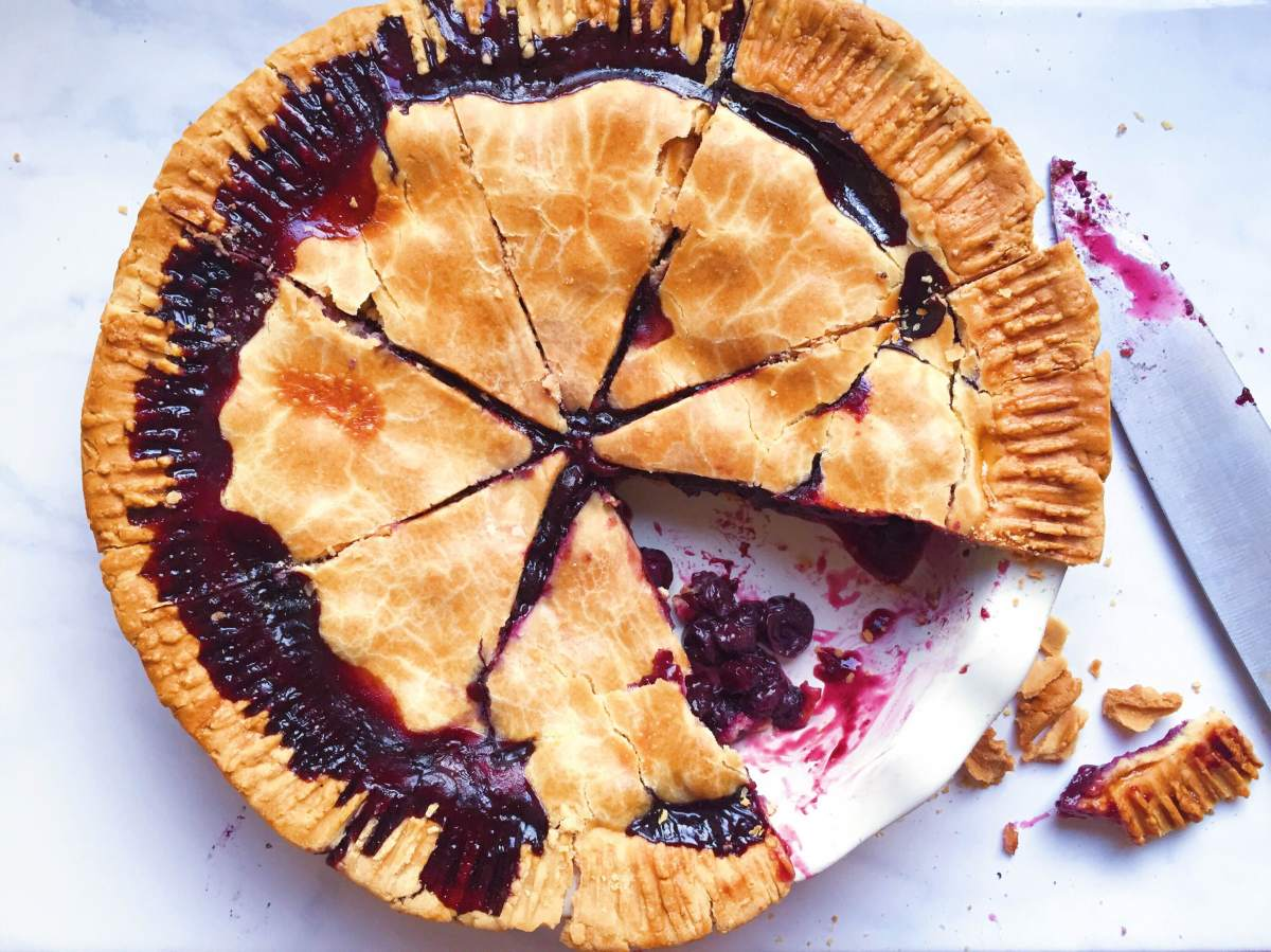 Gluten Free Blueberry Pie – The Dish On Healthy