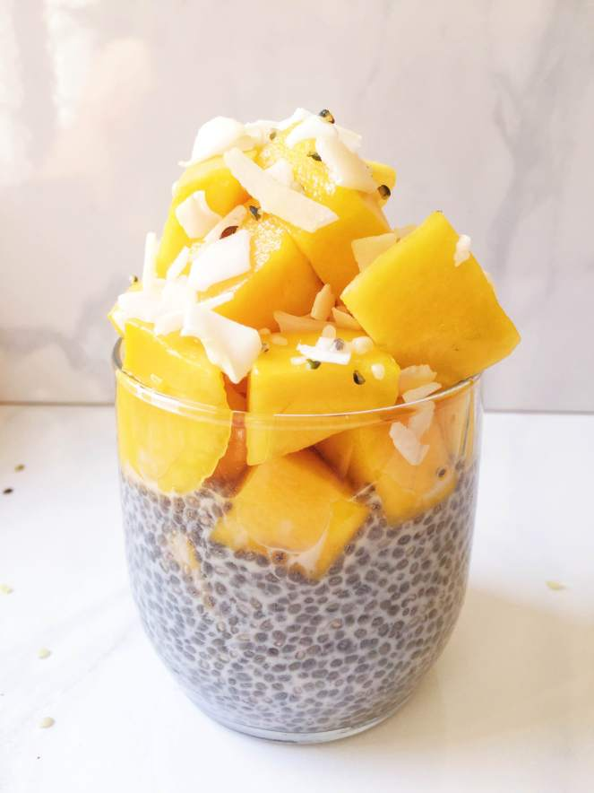 mango chia pudding recipe