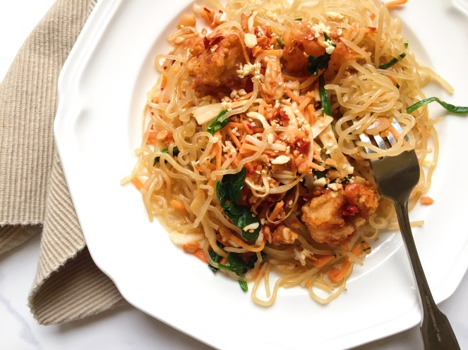 ginger-garlic-shrimp-pad-thai