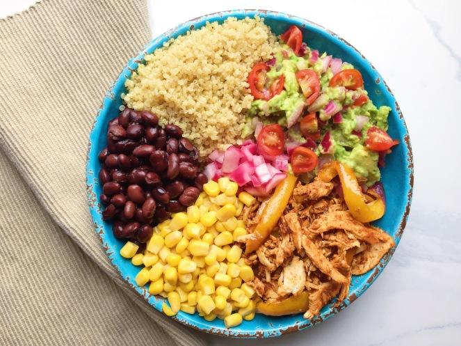Chicken Fajita Bowl 4