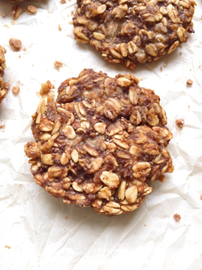 easy oatmeal breakfast cookies
