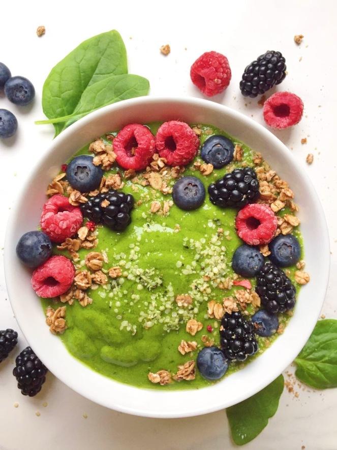 matcha avocado spinach smoothie