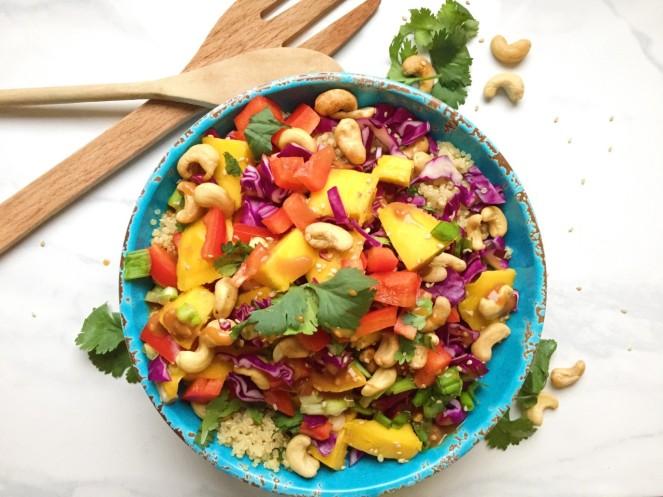 Thai Quinoa Spring Salad 2