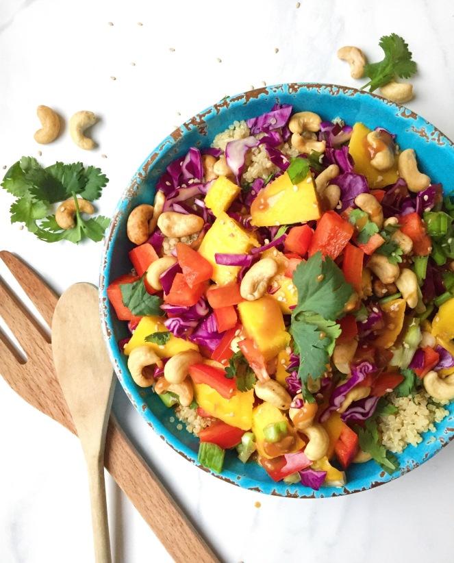 Thai Quinoa Spring Salad Recipe