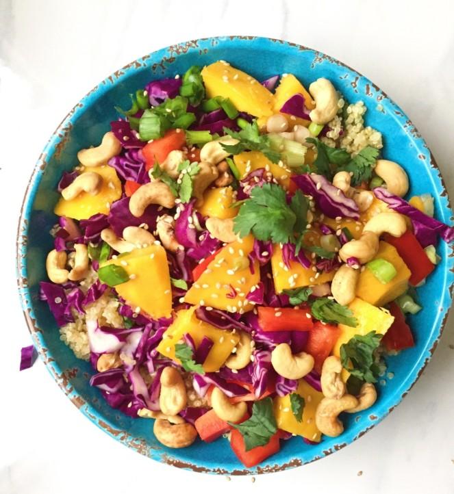 Vegan Thai Quinoa Salad