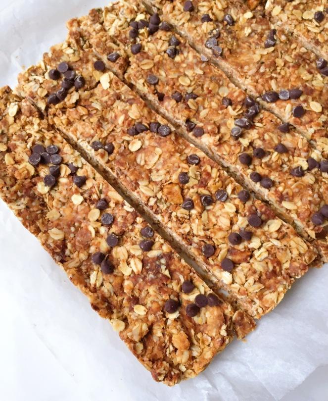 easy no bake granola bars