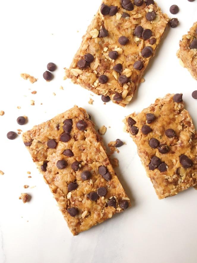 healthy no bake granola bars